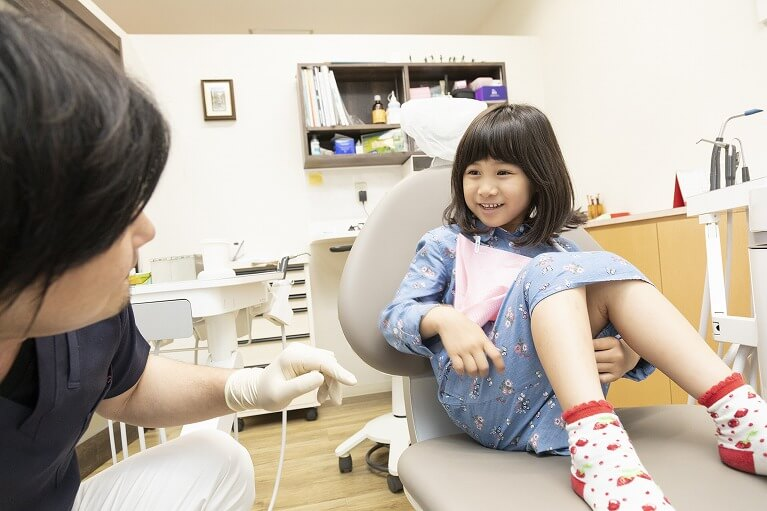 お子さまの成長を大切にした診療を行う梶歯科医院