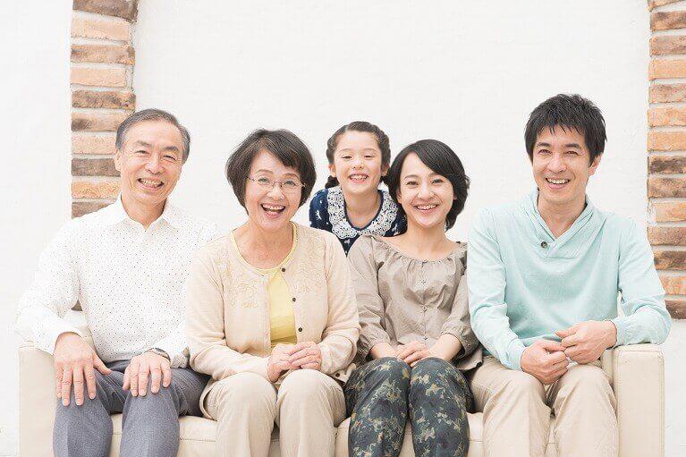 ご家族のお口の健康を守る・改善しておく