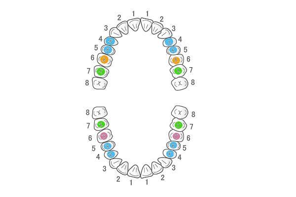 保険で白い歯に変えることが可能です