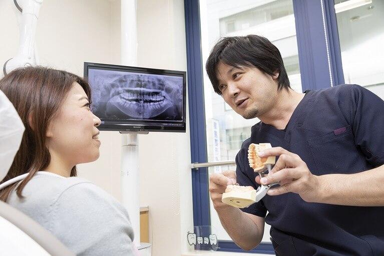患者様と根気よく歯周病治療に取り組みます