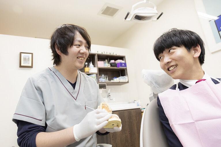 残存歯をより多く残すための予防歯科なら垂水区の梶歯科医院