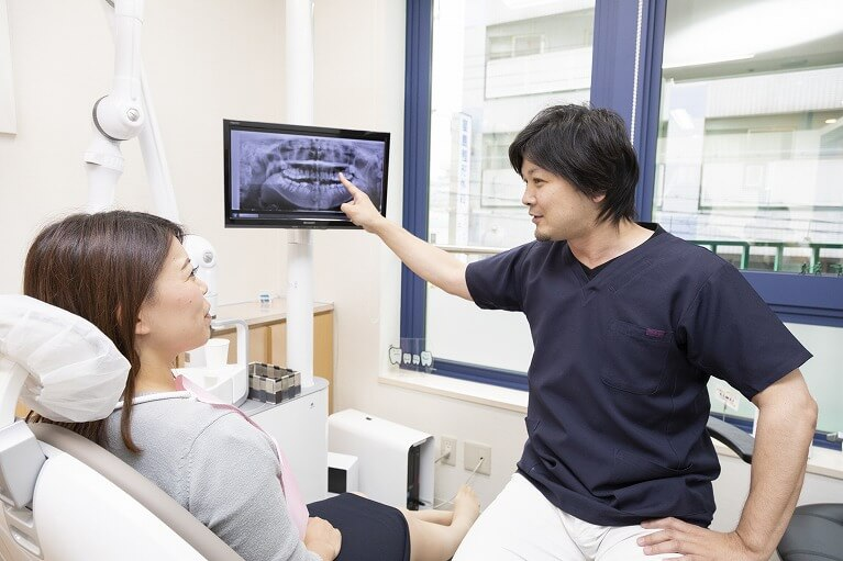 親知らずを抜歯しなくても良いケース|神戸市垂水区で親知らずを行う梶歯科医院
